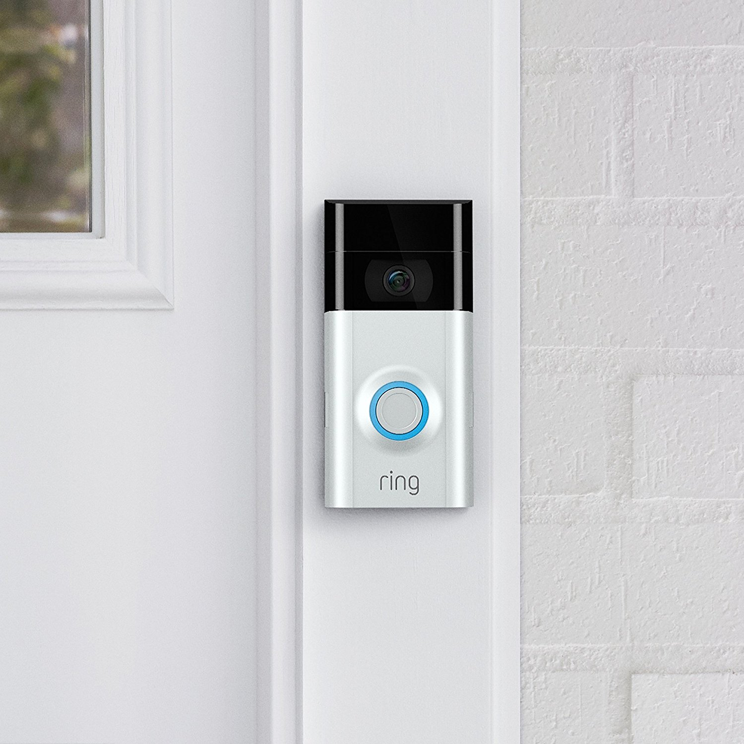 Ring Doorbell Security Camera W Night Vision Digital