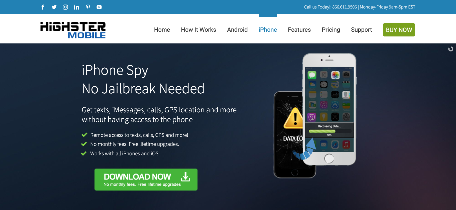 Highster Mobile - iPhone - Digital Security World